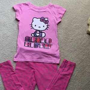 Hello Kitty T-shirt and Pants